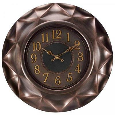 Smart Garden Repton Contemporary Wall Clock Indoor Outdoor Use