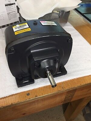 """Huge Dayton 4Z859 Speed Reducer 31:1 Ratio Parallel Shaft 1"""" Out 5/8"""" In Lot #2"""