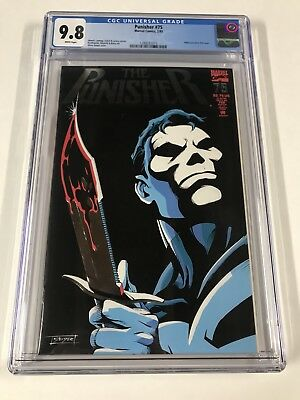 Punisher 75 Cgc 9.8 White Pages Embossed Cover