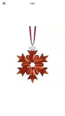 Swarovski Crystal 2018 ANNUAL EDITION LARGE CHRISTMAS ORNAMENT  Free Shipping