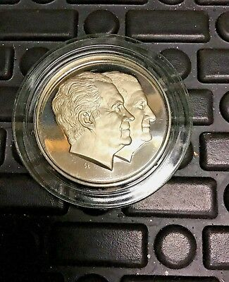 1973 Official Presidential Inaugural Medal Proof Edition Sterling Silver