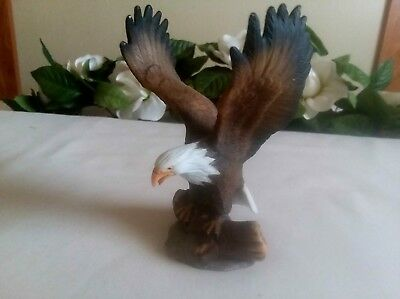 Porcelain Eagle Figurine