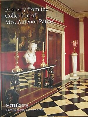Sotherby´s: Property from the Collection of Mrs. Antenor Patino, 11/1997