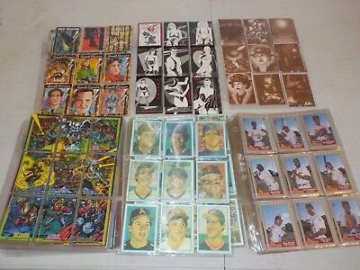 Huge Lot of 47 Complete Sets in Pages w/ Marvel, Inserts, Auto Card Nice! X24