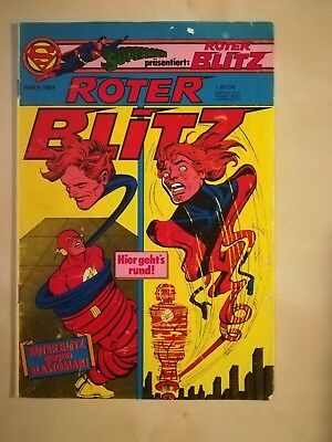 Roter Blitz Nr. 9/1981- Ehapa - In Board Und Hülle