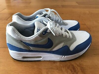 big sale 86d86 edac3 2009 Nike Air Max 1 OG White Varsity Blue sz.10, Supreme,