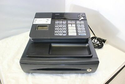 Casio Cash Register PCR-272 Small Business, Works Nice, With Keys, Some Scuffs