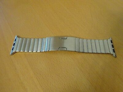 Metallarmband Apple Watch 38 mm Silber Top Zustand