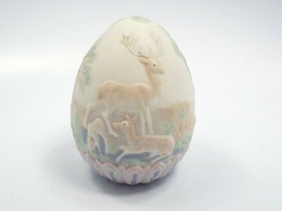 Lladro Figurine #17550 1996 Limited Edition Egg, Deer & Babies, with box