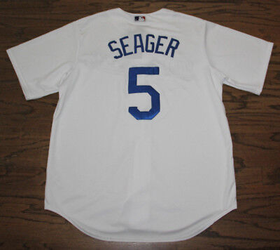 Corey Seager Los Angeles Dodgers Majestic Cool Base Jersey L Large Nwt New 3ea8b3fcc