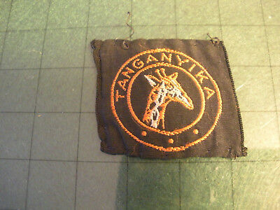 Rare 1960s National Scouting Badge from Tanganyika in Africa