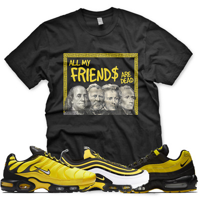 f3d426c6ed New PRESIDENTS T Shirt for Nike Air Max Plus 97 95 Frequency Pack Black  Yellow