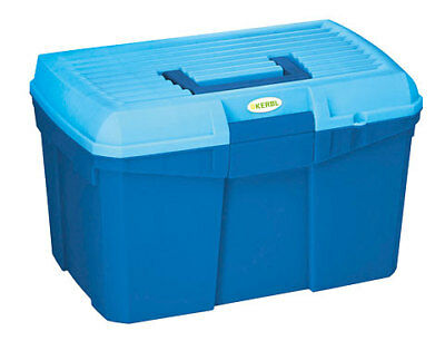 Kerbl Cleaningbox Siena Midnightblue plastic very stable to 100kg resilient