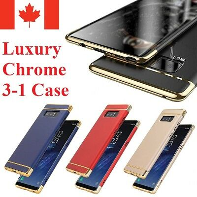 For Samsung Galaxy Note 8 - Thin Luxury Hard Armor Bumper Cover Case