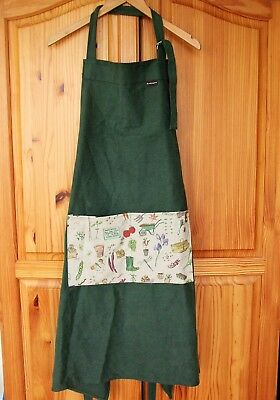 Gardening Apron Prince of Wales Highgrove Worn by Monty Don Made in England NEW
