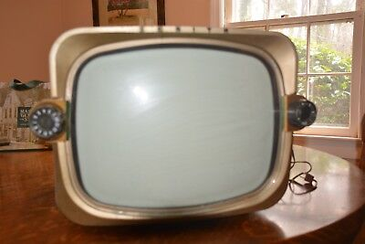 1956 Zenith X1816G TV Television - Mid Century Modern Vintage - With Manual