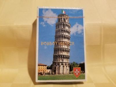 Vintage Standard Deck Playing Cards Italy Leaning Tower of PISA Venice Gondola