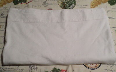 French Vintage  Linen Metis Bed Sheet  / Curtains 70 W x 100 ins