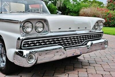 1959 Ford Ranchero Excellent Restoration 'C' Code 292 V8 Manual 1959 Ford Ranchero Drives Amazing Headers Dual Exhaust New Wheels