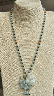 Certified 100% Natural A Emerald Jade Pendant~Necklace  Have certificate