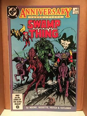 Swamp Thing #50 (Jul 1986, DC) ... Justice League Dark and  Death of Zatara