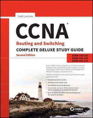 CCNA Routing and Switching Complete Deluxe Study Guide by Todd Lammle (author)
