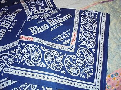 PBR Pabst Blue Ribbon Beer Bandana New