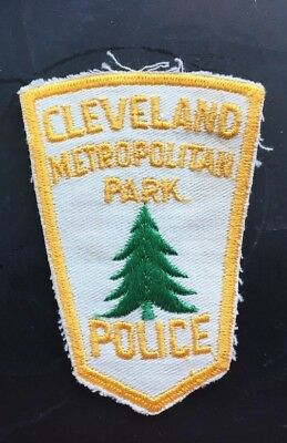 CLEVELAND METROPOLITAN PARK POLICE Patch PRE 1980 not NYPD