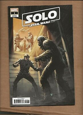 Solo Star Wars Story Movie Adaptation #1 Luke Ross Incentive Variant Marvel 1:50