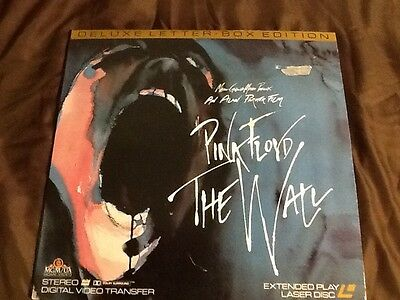 Pink Floyd - The Wall Laser Disc - shows some wear not  tested - 1991?