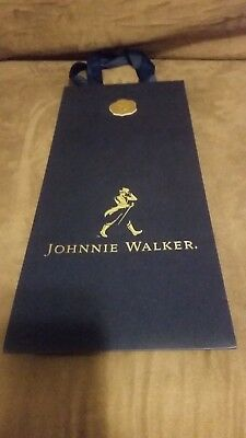 "New Johnnie Walker Blue Label Gift Bag - Bag Only 17"" x 5"" x 7.5"""