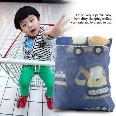Baby Shopping Seat Mat Cart Cover Trolley Cushion Cover Chair Soft Comfortable
