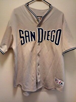 best website 85be9 1747c SAN DIEGO PADRES Away Majestic Authentic Jersey - $16.50 ...