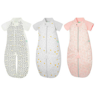 ErgoPouch Organic/Cotton 1.0 TOG Sleep Suit Bag 2-4yrs Baby w/ Room Thermometer
