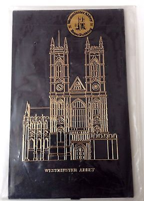 "LONDON England WESTMINSTER ABBEY 8"" Brass Rubbing Figure! FREE SHIPPING!"