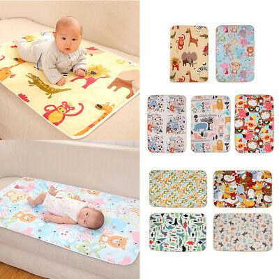 Change Pads Covers Reusable Baby Diapers Mattress Bedding Waterproof Sheet Mat