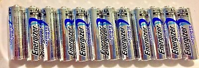 NEW Energizer Ultimate Lithium AA Batteries 24 Pack EXP 2036