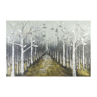 *Forest* Hand Painted Oil Painting Stretched Canvas Wall Art Home Decor Framed