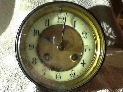 Antique Clock Movement spares or repair