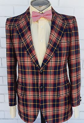1970's Wool Blazer, by Steinhart's Liberty Co., USA import, Size M