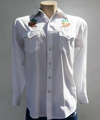 Western Shirt by 'Young Bloods, Authentic Westerns', USA import, Size XL.