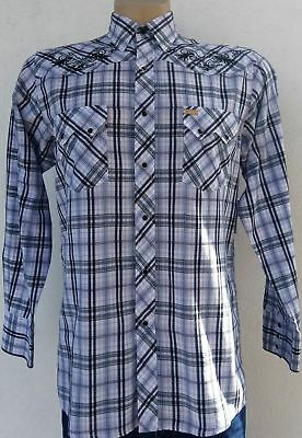 Western shirt by 'White Horse Ranch' USA import, size M