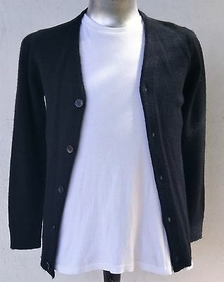 Men's Black Cardigan by 'Imperial Knitting Company' USA, size XS