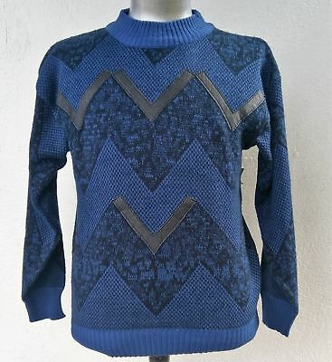 Men's 1980's crew neck pullover by 'Playboy', USA size L
