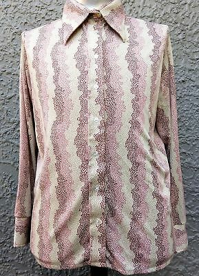 Men's 1970's Disco shirt by 'Ultriana' from USA size XL.