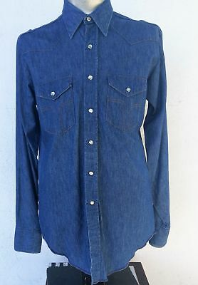 Men's Western shirt by 'Vaguero, Dickies' size L- XL