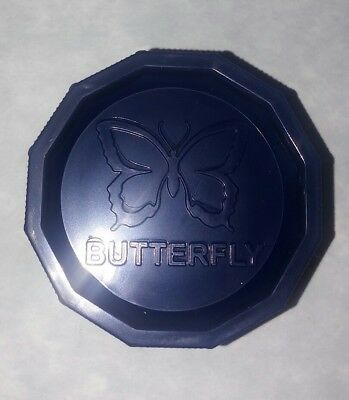 """One (1) Butterfly 2"""" Polycarbonate Herb Grinder"""