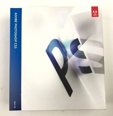 Adobe Photoshop CS5 full version with serial key Excellent condition MAC version