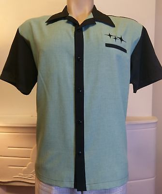 Men's Steady 'Retro, Rad and Ready' Bowling Shirt