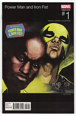 Power Man and Iron Fist #1 Jones Hip Hop  Variant Mobb Deep Homage Marvel 2016